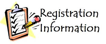 Click icon for Registration information and Payment Options